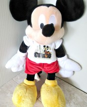 DISNEY PLUSH MICKEY MOUSE WITH CHICAGO T-SHIRT ... - $9.74