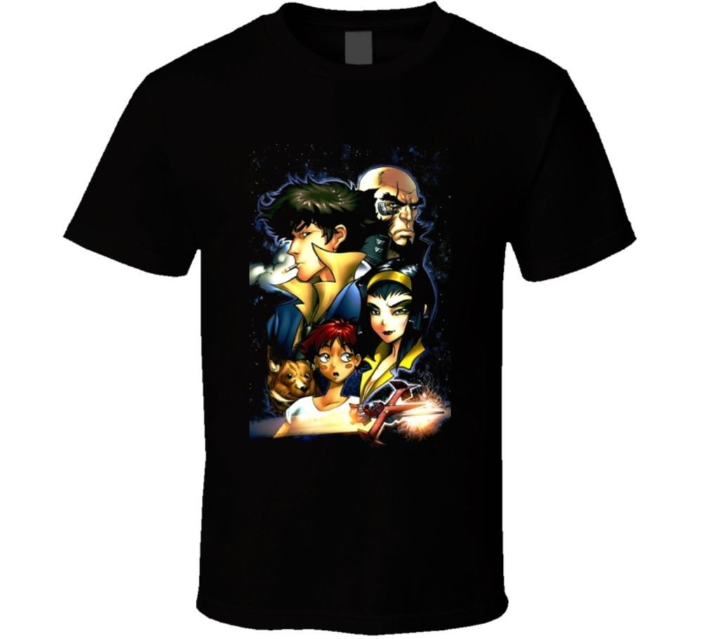 Primary image for Cowboy Beebop Manga Cartoon T Shirt