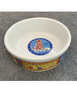 """Feed Me Cat"" Kitty Bowl Dish Riviera Van Beers Stoneware 5""x2"" New Small - $14.84"