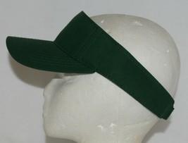Augusta Sportswear Adult Adjustable Dark Green Sport Twill Visor 6225 image 2
