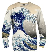 Kanagawa Wave Cotton Printed Sweatshirt | Unisex | XS-2XL | Mr.Gugu & Miss Go