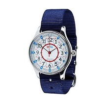 EasyRead Time Teacher WERW-RB-24-NB Red Blue 12/24 Hour Face Waterproof ... - $54.16