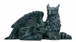 Griffin With Babies - Collectible Figurine Statue Sculpture Figure - $27.22