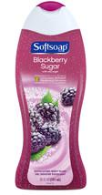 Softsoap Moisturizing Body Wash, Blackberry Sugar, 20 Ounce - $7.95