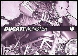 2003 Ducati Monster Prestige Motorcycle Color Brochure S4 1000 800 620 - $10.45