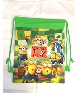 Minions  Drawstring Backpack Sling Tote Boys New!  More Fun Characters Too - $6.25