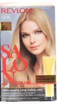 1 Revlon Salon Color 9 Light Natural Blonde Booster Kit Luminous Gray Coverage - $24.99