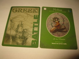 2003 Age of Mythology Board Game Piece: Greek Battle Card - Medusa - $1.00