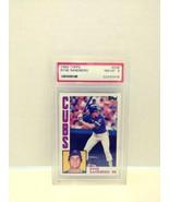 1984 Topps Ryne Sandberg PSA NM-MT 8 #596 - $14.99