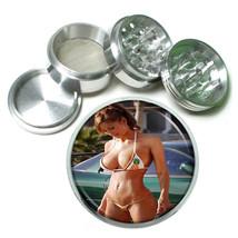 Cuban Pin Up Girls D12 63mm Aluminum Kitchen Grinder 4 Piece Herbs & Spices - $13.81