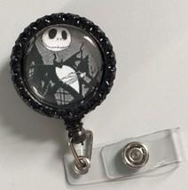 Nightmare Before Christmas Bottle Cap badge reel key ID card lanyard Ret... - $9.50