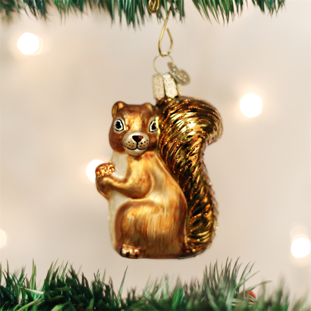Primary image for OLD WORLD CHRISTMAS SQUIRREL GLASS CHRISTMAS ORNAMENT 12080