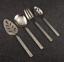 National Stainless Costellano Set of 4 Serving Pieces- Pie,Spoon,Meat,Casserole - $34.95