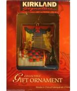 Kirkland Signature Ornament Teddy Sleepin In bed In Front of Window - $7.91