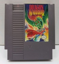 Dragon Warrior (Nintendo Entertainment System, 1989), Tested and Working  - $4.99