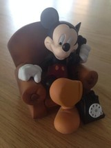 Extremely Rare! Walt Disney Mickey Mouse in his Chair Demons & Merveille... - $198.00