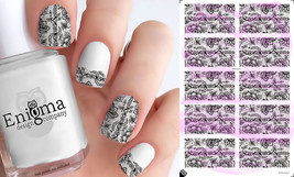 Lace Pattern Nail Decals - Vol I (Set of 10) - $4.95