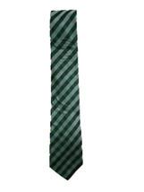 Tommy Hilfiger Men's Classic Ground Plaid Silk Tie (Green) - $49.47