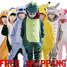 NEW HOT SALE KIDS PAJAMAS KIGURUMI UNISEX COSPLAY ANIMAL COSTUME SLEEPWE... - $27.99