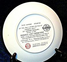 """1983 """"Father's Help"""" by Norman Rockwell Plate with Box ( Knowles ) AA20-CP2189 V image 6"""