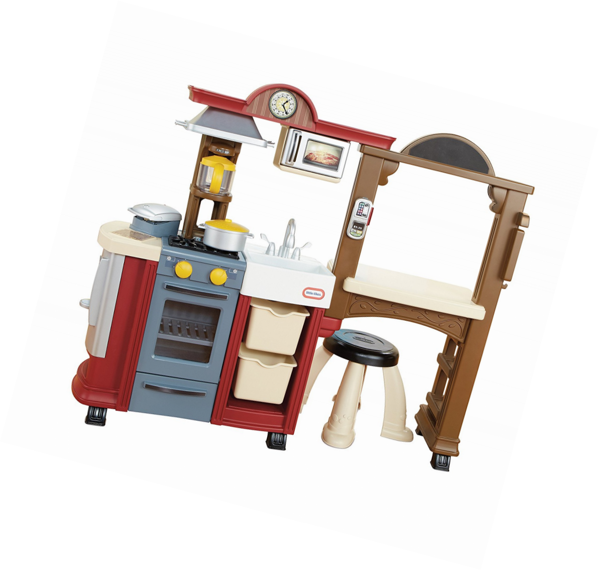 Little Tikes Kitchen & Restaurant-Red Tikes, and 6 similar items