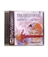 Final Fantasy Origins Black Label Brand New Sealed Playstation Game * PS... - $59.88
