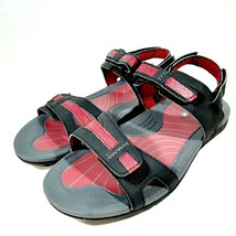 Merrell Women's Ankle Strap Sandals Size 7 Beet Red Waterproof Excellent - $20.78