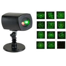 Holiday Brilliant Spectacular Laser Projector 12 Spooky Patterns NEW - $32.99