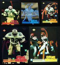 1991 Upper Deck Football Game Breakers Hologram Football Cards You U Pick - $1.25+