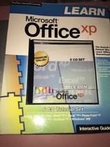 Microsoft Office Xp Interactive Turtorial 6 Cd - $67.13