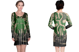 Flogging Molly  Full print 3D All Over Print Long Sleeve Night Gown - $18.99+