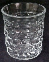 Indiana Colony Whitehall Clear Glass Juice Beverage Tumbler Vintage - $19.57