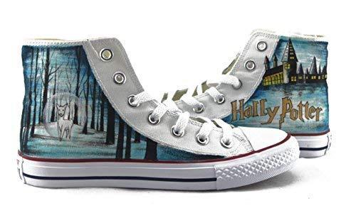 aacc9a0f20 41dgagutz8l. sl1500. 41dgagutz8l. sl1500. Harry Potter Sneakers Hand  Painted Shoes Custom Men Women ...
