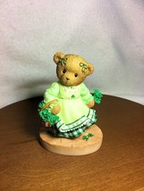 Cherished Teddies Abbey Press I-rish You Bouquets of Blessings RARE  200... - $45.55