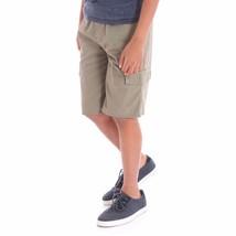 Wrangler Boys Cargo Jogger Shorts Active Flex Olive Size SMALL 6-7 New - $13.85