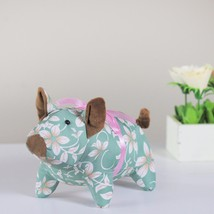 """Northlight 10"""" Country Green Floral Easter Piglet Spring Decoration - $13.60"""