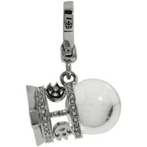 Juicy Couture Charm Love Fortune Ball Silvertone NEW - $97.02