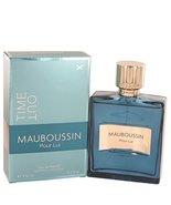 Mauboussin Pour Lui Time Out Cologne By Mauboussin 3.4 oz Eau De Parfum ... - $39.70