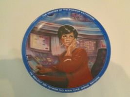 UHURA Star Trek Collection Plate by The Hamilton Collection Plate Number... - $58.41