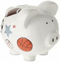 Child to Cherish Ceramic Piggy Bank for Boys, Sports - $29.69