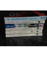 Silhouette Elizabeth August lot of 6 Contemporary Romance Paperbacks - $11.99