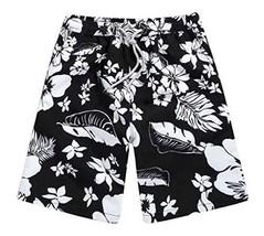 Black Temptation Men's Summer Shorts Quick-dry Marina Core Basic Watershorts [A] - $18.60