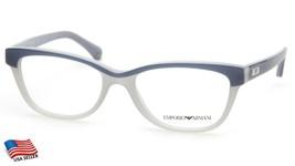 New Emporio Armani Ea 3015 5109 Blue Grey Eyeglasses Frame 51-17-140 B35mm - $64.34