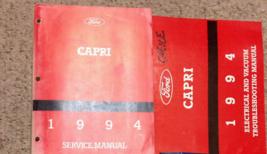 1994 Ford Mercury Capri Servizio Riparazione Negozio Officina Manuale Se... - $89.14