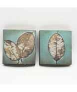 Pair of Leaf Prints Home Decor - $24.74