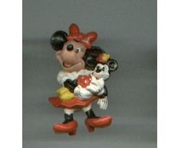 Disney MINNIE MOUSE Cake Toppers / PVC plastic figures - $13.00