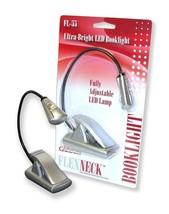 Carson FlexNeck Ultra Bright, Fully Adjustable LED Gooseneck Reading Lights - $19.01