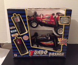 TURBO Dasher Twin Pack 2 Radio Control  Cars 1:18  1 Black & 1 Red - $33.42