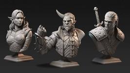 Discount - Bundle - Set - Warrior - Ancient - 3D - Printed HQ - Resin Miniature  - $50.00