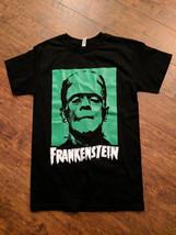 Frankenstein Monster Green Face t-shirt - $12.99